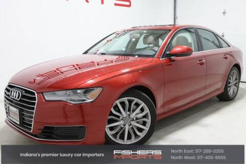 2016 Audi A6 for sale at Fishers Imports in Fishers IN