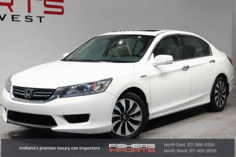 2014 Honda Accord Hybrid for sale at Fishers Imports in Fishers IN