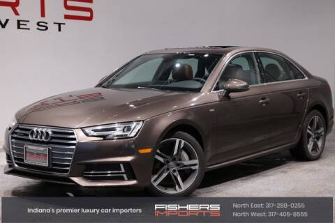 2017 Audi A4 for sale at Fishers Imports in Fishers IN