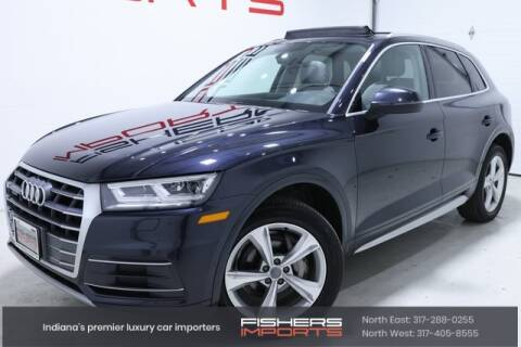 2018 Audi Q5 for sale at Fishers Imports in Fishers IN