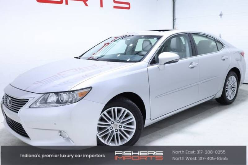 2013 Lexus ES 350 for sale at Fishers Imports in Fishers IN