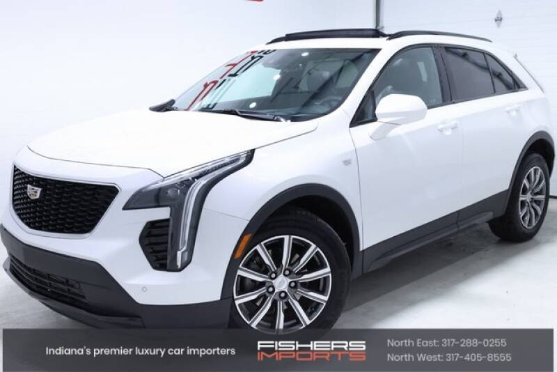 2020 Cadillac XT4 for sale at Fishers Imports in Fishers IN