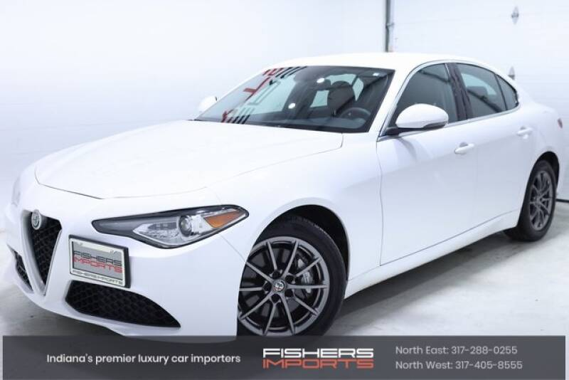 2018 Alfa Romeo Giulia for sale at Fishers Imports in Fishers IN