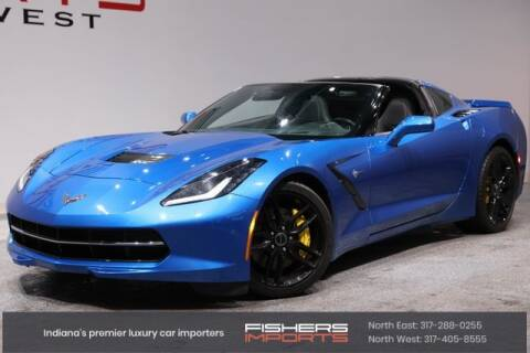 2014 Chevrolet Corvette for sale at Fishers Imports in Fishers IN
