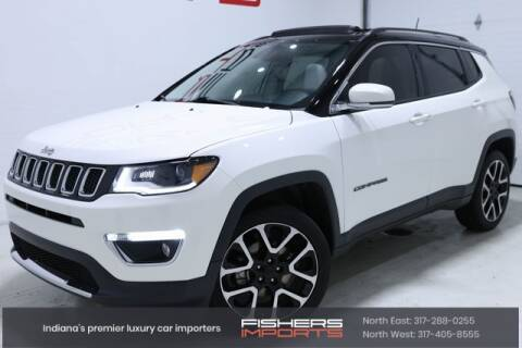 2019 Jeep Compass for sale at Fishers Imports in Fishers IN