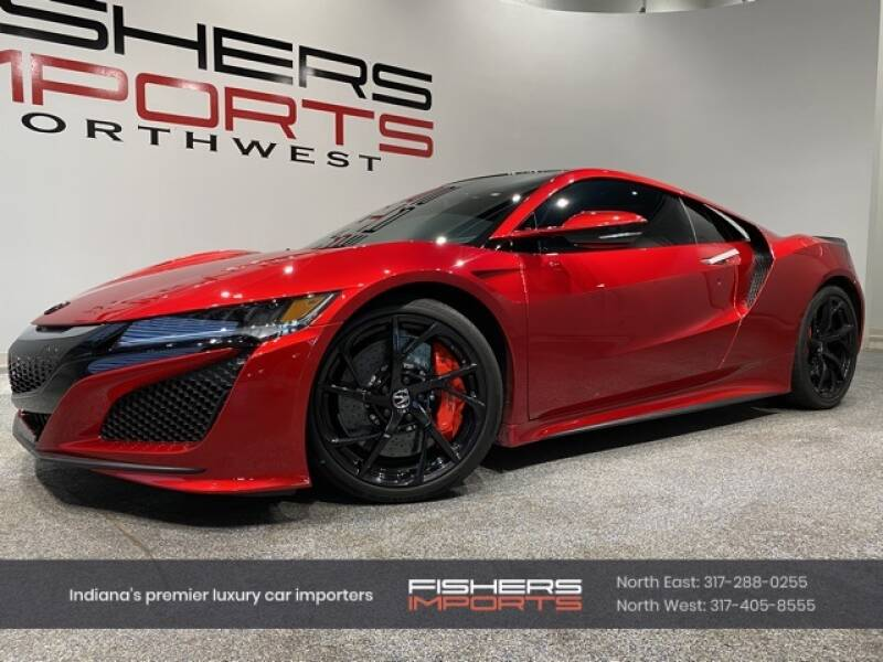 2017 Acura NSX for sale at Fishers Imports in Fishers IN