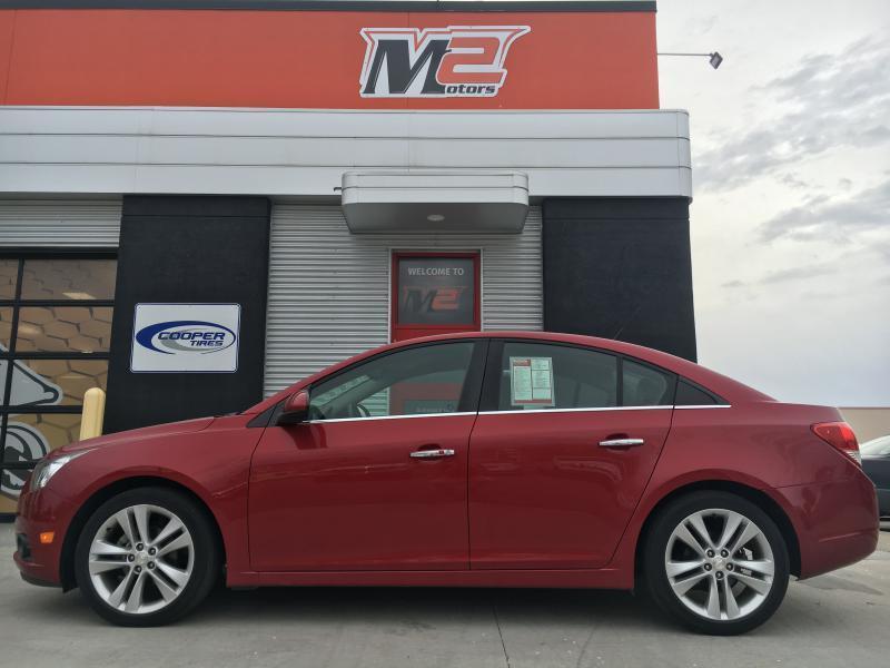 2012 Chevrolet Cruze for sale at M2 Motors LLC in Fargo ND