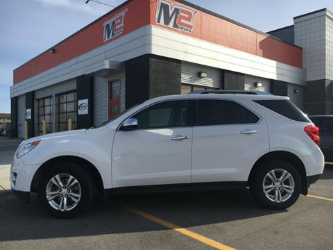 2011 Chevrolet Equinox for sale at M2 Motors LLC in Fargo ND