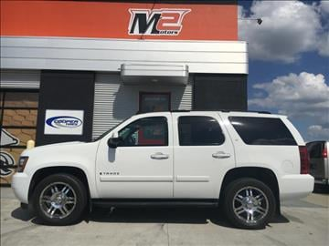 2007 Chevrolet Tahoe for sale at M2 Motors LLC in Fargo ND
