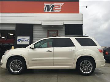 2012 GMC Acadia for sale at M2 Motors LLC in Fargo ND