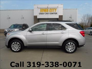 2010 Chevrolet Equinox for sale in Iowa City, IA
