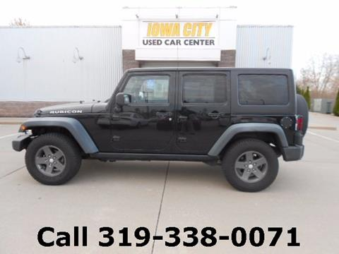 2011 Jeep Wrangler Unlimited for sale in Iowa City, IA