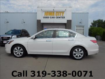 2008 Honda Accord for sale in Iowa City, IA
