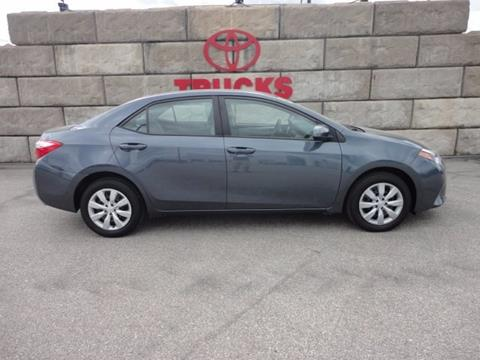 2015 Toyota Corolla for sale in Iowa City, IA