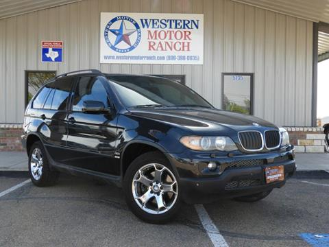 2006 BMW X5 for sale at Western Motor Ranch in Amarillo TX