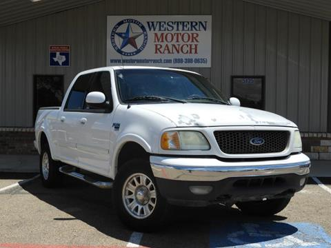 2003 Ford F-150 for sale at Western Motor Ranch in Amarillo TX