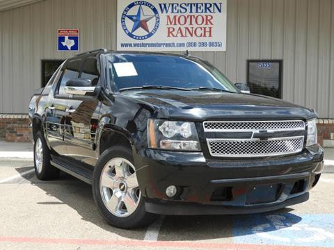2007 Chevrolet Avalanche for sale at Western Motor Ranch in Amarillo TX