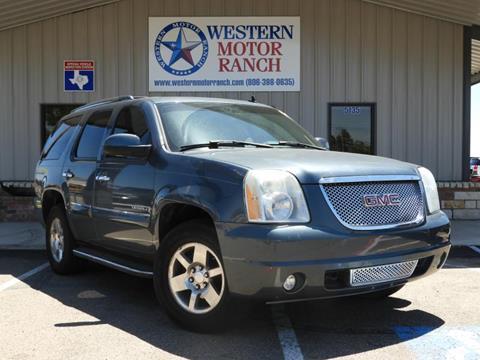 2007 GMC Yukon for sale at Western Motor Ranch in Amarillo TX