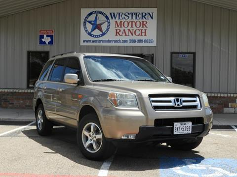2006 Honda Pilot for sale at Western Motor Ranch in Amarillo TX