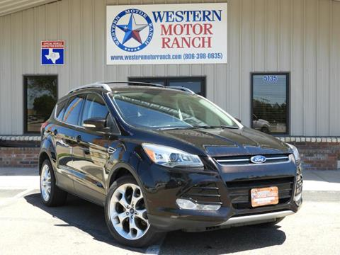 2013 Ford Escape for sale at Western Motor Ranch in Amarillo TX