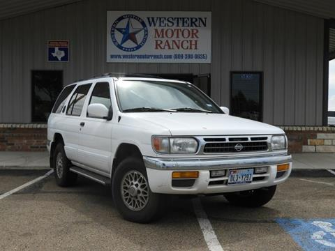 1996 Nissan Pathfinder for sale at Western Motor Ranch in Amarillo TX