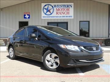 2013 Honda Civic for sale at Western Motor Ranch in Amarillo TX