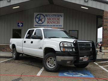 2004 Chevrolet Silverado 2500HD for sale at Western Motor Ranch in Amarillo TX