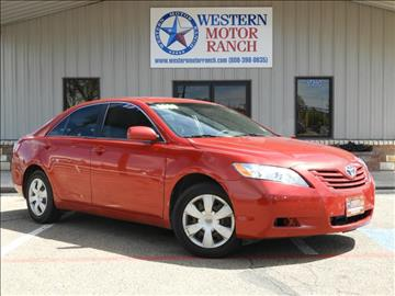 2009 Toyota Camry for sale at Western Motor Ranch in Amarillo TX
