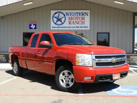 2008 Chevrolet Silverado 1500 for sale at Western Motor Ranch in Amarillo TX