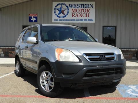 2004 Honda CR-V for sale at Western Motor Ranch in Amarillo TX