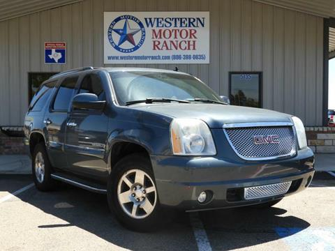 2008 GMC Yukon for sale at Western Motor Ranch in Amarillo TX