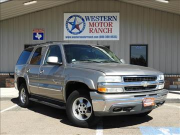 2003 Chevrolet Tahoe for sale at Western Motor Ranch in Amarillo TX