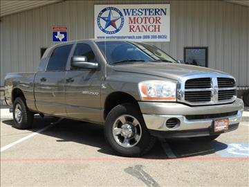 2006 Dodge Ram Pickup 2500 for sale at Western Motor Ranch in Amarillo TX