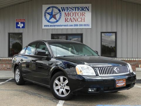 2006 Mercury Montego for sale at Western Motor Ranch in Amarillo TX