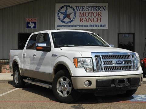 2010 Ford F-150 for sale at Western Motor Ranch in Amarillo TX