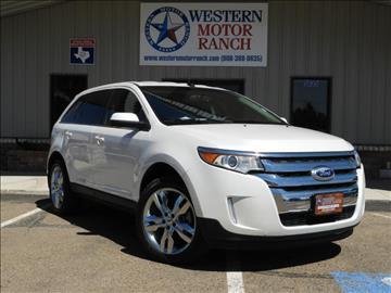 2013 Ford Edge for sale at Western Motor Ranch in Amarillo TX
