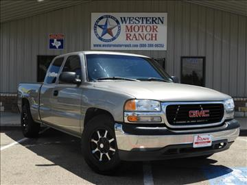 2002 GMC Sierra 1500 for sale at Western Motor Ranch in Amarillo TX