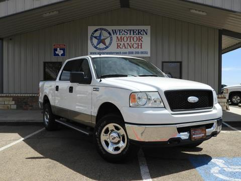 2006 Ford F-150 for sale at Western Motor Ranch in Amarillo TX