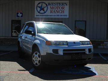 2004 Saturn Vue for sale at Western Motor Ranch in Amarillo TX
