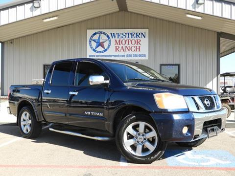 2008 Nissan Titan for sale at Western Motor Ranch in Amarillo TX