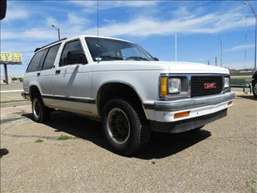 1992 GMC Jimmy for sale in Amarillo, TX