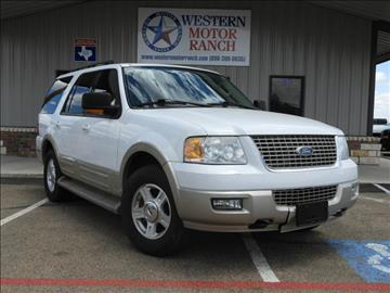 2006 Ford Expedition for sale at Western Motor Ranch in Amarillo TX