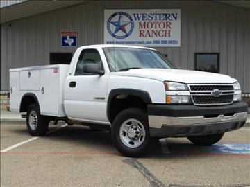 2005 Chevrolet Silverado 2500 for sale at Western Motor Ranch in Amarillo TX