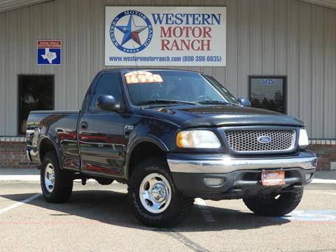 1999 Ford F-150 for sale at Western Motor Ranch in Amarillo TX