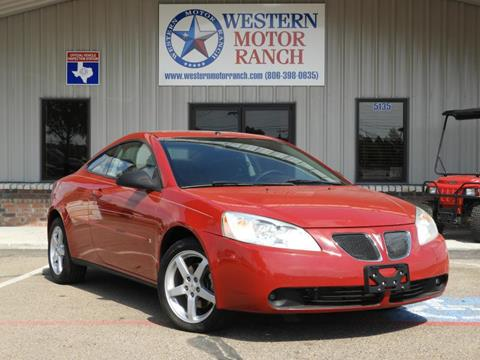 2006 Pontiac G6 for sale at Western Motor Ranch in Amarillo TX