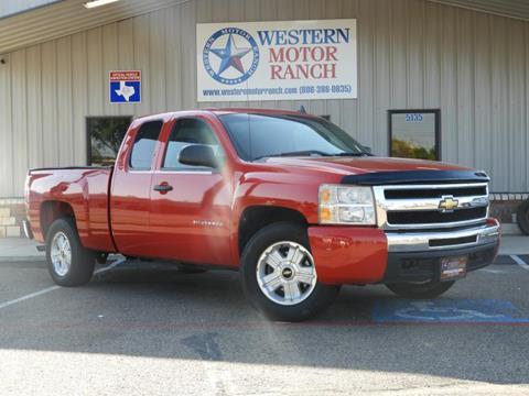 2010 Chevrolet Silverado 1500 for sale at Western Motor Ranch in Amarillo TX