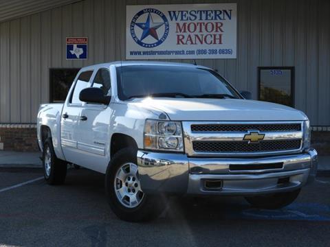 2012 Chevrolet Silverado 1500 for sale at Western Motor Ranch in Amarillo TX