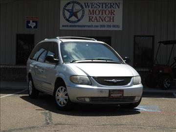 2004 Chrysler Town and Country for sale at Western Motor Ranch in Amarillo TX