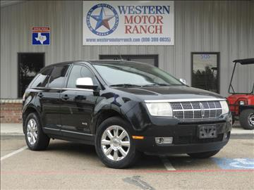 2007 Lincoln MKX for sale at Western Motor Ranch in Amarillo TX