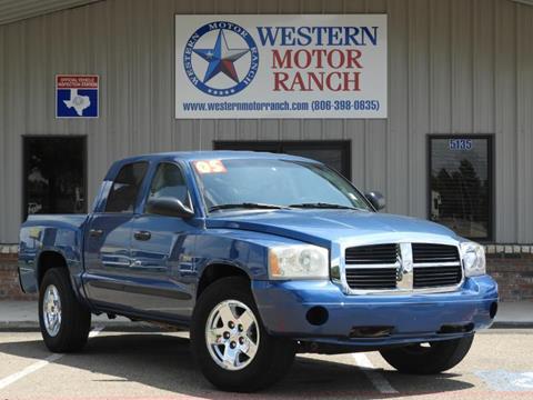2005 Dodge Dakota for sale at Western Motor Ranch in Amarillo TX